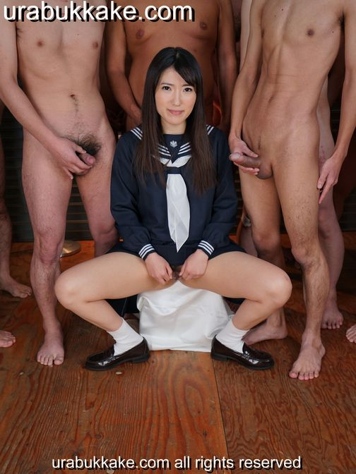 Old Man Japanese School Girl